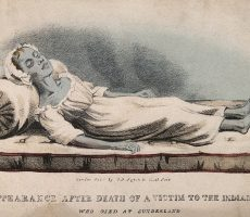 The Appearance After Death of a Victim to the India Cholera
